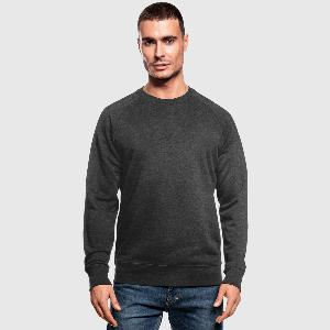 Økologisk sweatshirt for menn - Foran