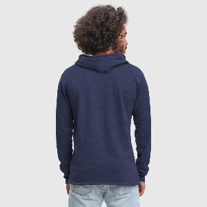 Light Unisex Sweatshirt Hoodie - Back