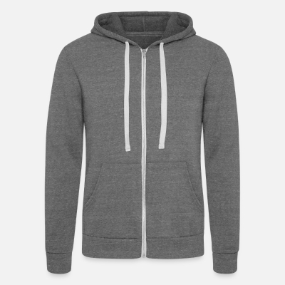 Unisex Tri-blend Hooded Jacket by Bella + Canvas