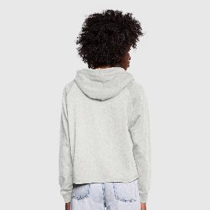 Vrouwen Cropped Hoodie - Achter