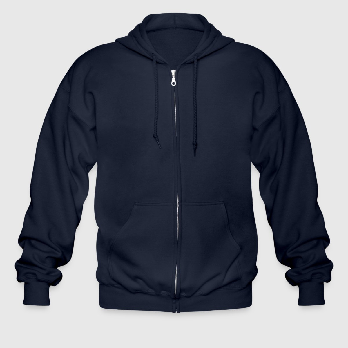 Men's Heavyweight Hooded Jacket - Front