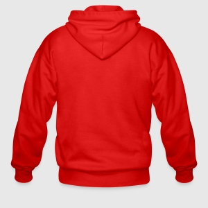 Men's Heavyweight Hooded Jacket - Back
