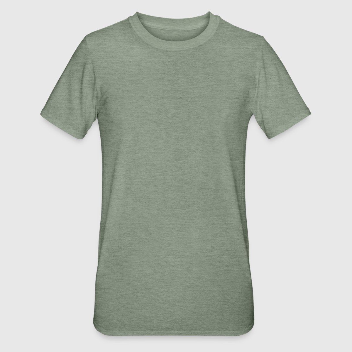 Men's T-shirt in heather colours - Front
