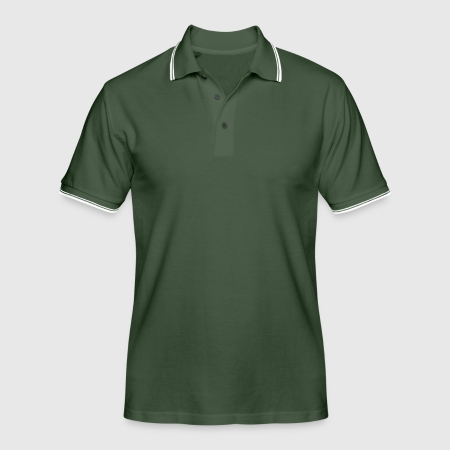 Men's Tipped Polo Shirt - Front