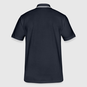 Tipped Poloshirt for menn - Bak