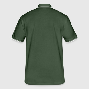 Men's Tipped Polo Shirt - Back