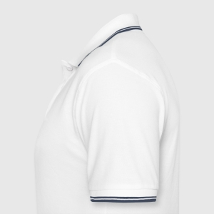 Men's Tipped Polo Shirt - Left