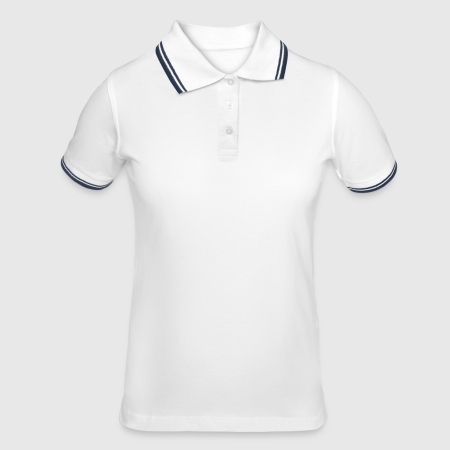 Tipped Poloshirt for kvinner - Foran