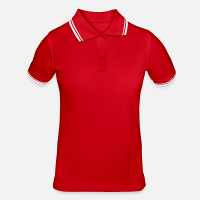Tipped Poloshirt for kvinner
