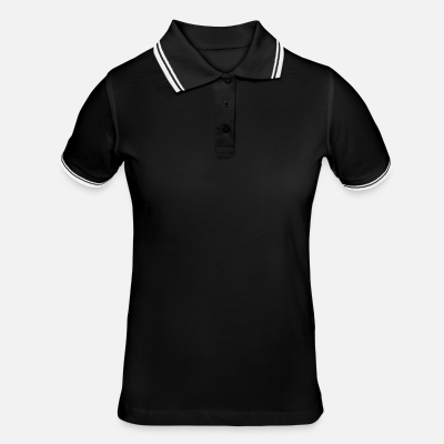 Tipped poloshirt damer