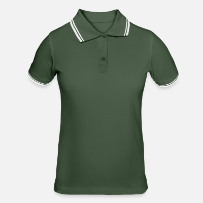 Women's Tipped Polo Shirt