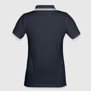 Women's Tipped Polo Shirt - Back