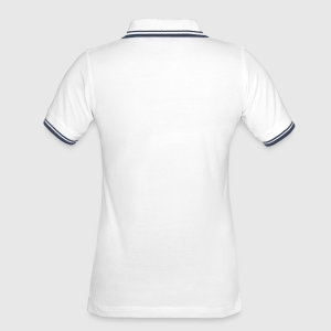 Tipped Poloshirt for kvinner - Bak