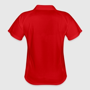 Women's Polo breathable - Back