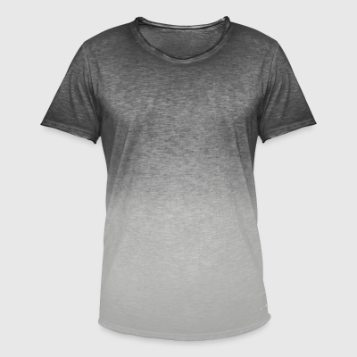 Herre T-shirt i colour-block-optik