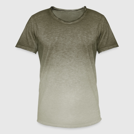 Herre T-shirt i colour-block-optik - Foran