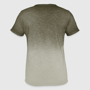 Men's T-Shirt with colour gradients - Back