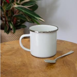 Emaille-Tasse - Links