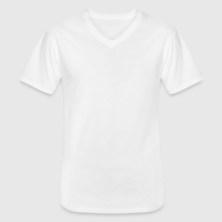 Men's V-Neck T-Shirt - Front