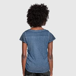 Women's Ruffle T-Shirt - Back