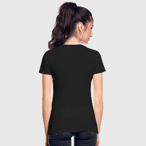 Women's Premium Organic T-Shirt - Back