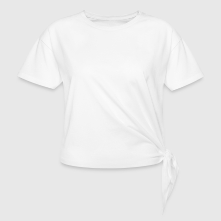 Knotted T-Shirt - Front