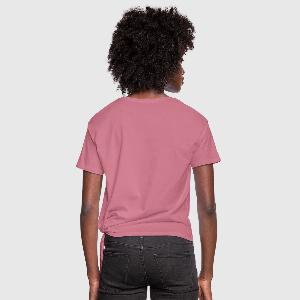 Women's Knotted T-Shirt - Back