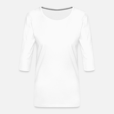 Frauen Premium 3/4-Arm Shirt