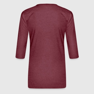 Women's Premium 3/4-Sleeve T-Shirt - Back