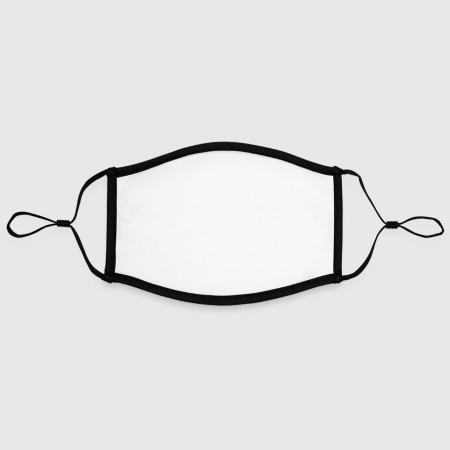 Contrast mask, adjustable (large) - Front