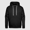 v-twin power vector design - Men's Premium Hoodie