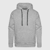 Praying Hands with Rosenkranz Basic - Men's Premium Hoodie