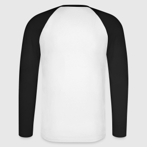Men's Long Sleeve Baseball T-Shirt - Back
