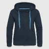 orca whale killer whale dolphin blackfish ocean Hoodies & Sweatshirts - Women's Premium Hooded Jacket