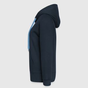 Frauen Premium Kapuzenjacke - Links