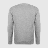 un message de tata lettre bulle coeur Sweat-shirts - Sweat-shirt Homme