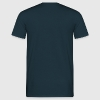 Navy C64 Loading Screen T-shirts (korte mouw) - Mannen T-shirt