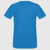 Peacock-blue New Zealand pixel T-Shirts - Men's Organic T-shirt