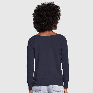 Women's Boat Neck Long Sleeve Top - Back