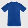 Royal blue Pixel Moustache Shirts - Teenage T-shirt