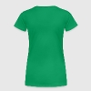 Kiss Me I'm Irish girl in shamrock hat  -11 - Women's Premium T-Shirt