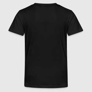 Teenager Premium T-shirt - Achter