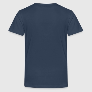 Teenager Premium T-Shirt - Hinten