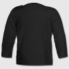 Dab dabbing skeleton football (soccer) - Baby Long Sleeve T-Shirt