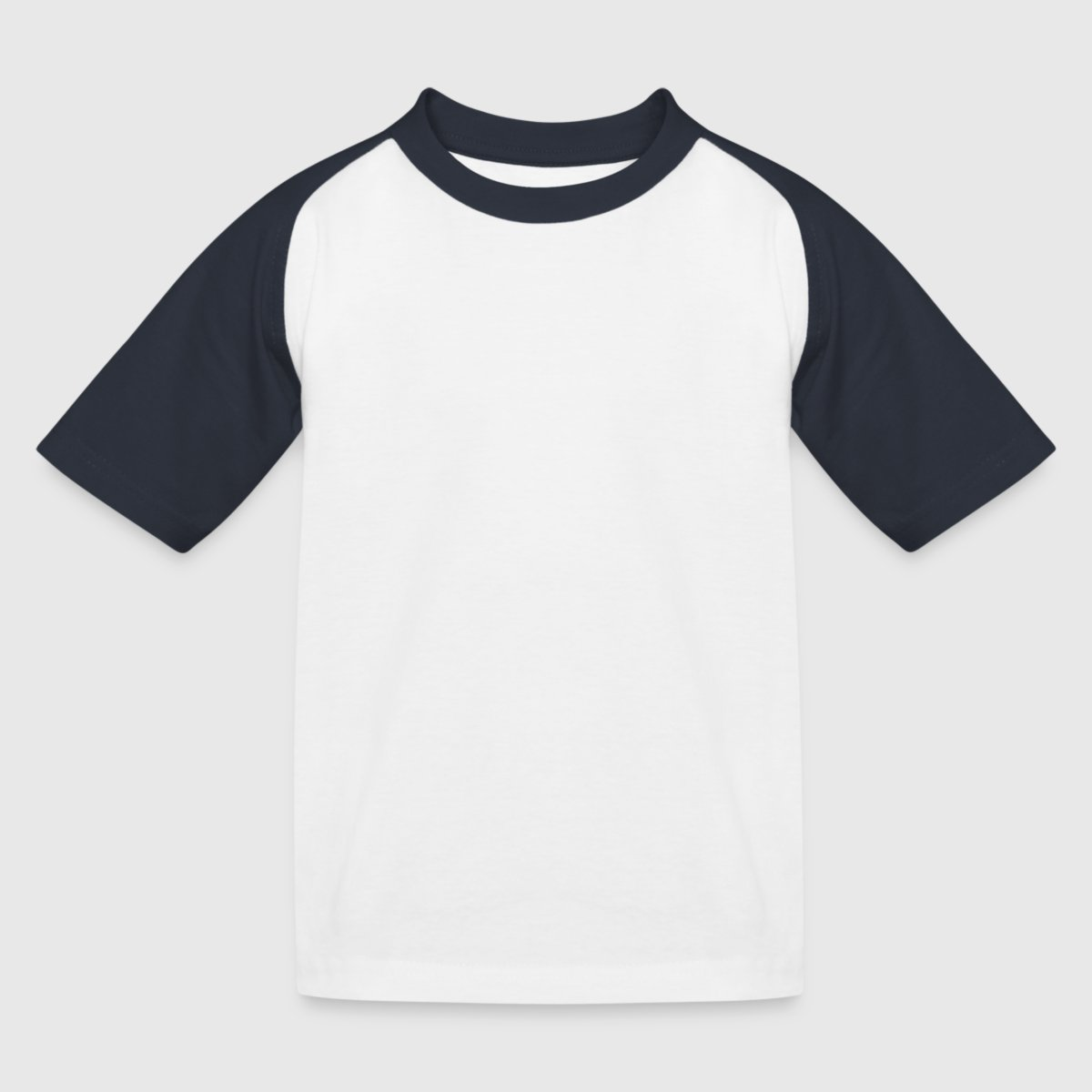 Kinder Baseball T-Shirt - Vorne