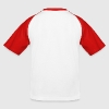 France, coq tricolore - T-shirt baseball Enfant