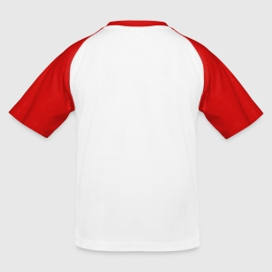 Kinder Baseball T-Shirt - Hinten