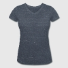 Cell-Fie - Women's Organic V-Neck T-Shirt by Stanley & Stella
