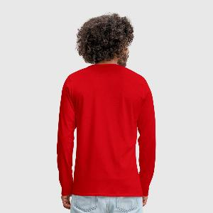 Men's Premium Longsleeve Shirt - Back