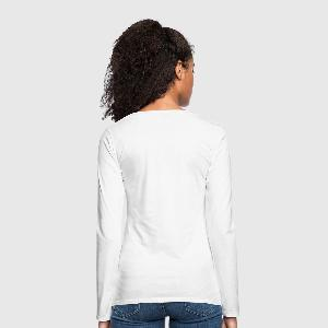 Women's Premium Longsleeve Shirt - Back